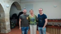 Con Katarzyna Mycka/ Junio 2014