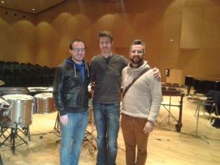 Con Philippe Spiesser/ Febrero 2014